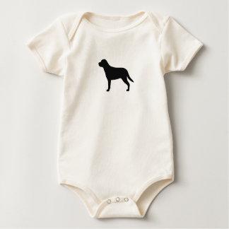 Body Une plus grande silhouette suisse de chien de
