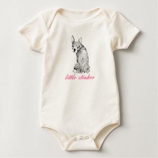 Body Une seule pièce de bébé de Boston Terrier