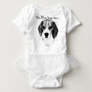 Body Visage heureux de beagle