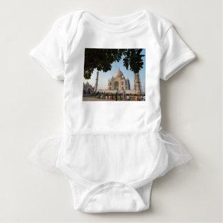 Body Visiteurs chez le Taj Mahal, Âgrâ, Inde
