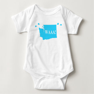 Body waAA ! aqua de combinaison de bébé de Washington