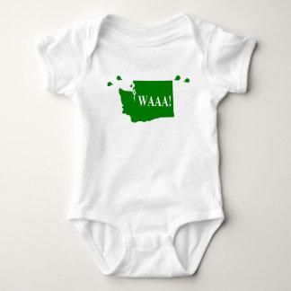 Body waAA ! vert de combinaison de bébé de Washington