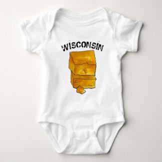 Body WI de Madison de fromage de cheddar de jaune