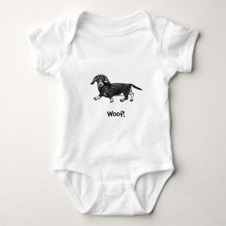 Body Woof ! Combinaison de bébé de chienchien - teckel