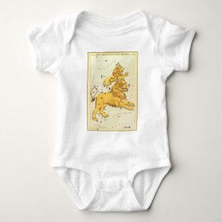 Body Zodiaque vintage, constellation de lion de Lion
