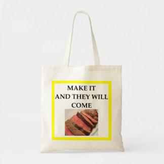 boeuf de rôti sacs fourre-tout