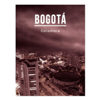 Bogota, Colombie Carte Postale