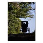Boguet amish - silhouette de jour cartes de vœux