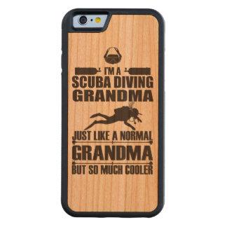 Bois de cas de l'iPhone 6 de grand-maman de Coque iPhone 6 Bumper En Cerisier