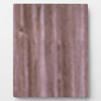 bois de couleur claire plaque photo