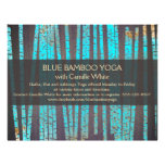 Bois en bambou de spa de santé de nature de yoga d tract