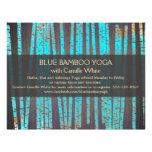 Bois en bambou de spa de santé de nature de yoga prospectus 21,6 cm x 24,94 cm