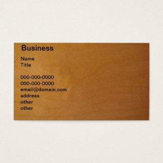 Bois - noeud cartes de visite