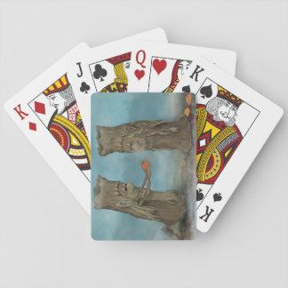 Bois norvégiens jeu de cartes