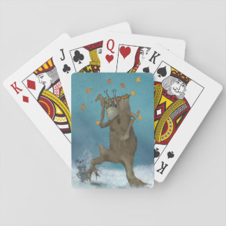 Bois norvégiens jeux de cartes