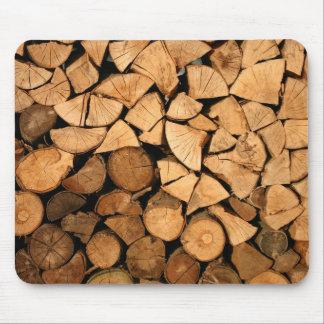 Bois obtenu - rondins tapis de souris