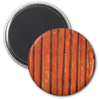 bois orange-foncé aimant