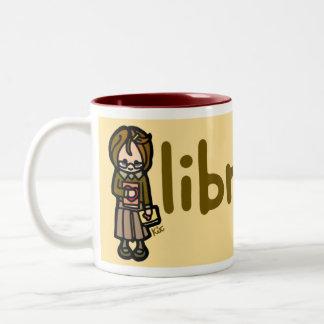 boisson chaude et culture élevée mug bicolore