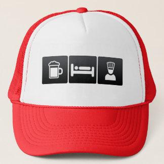 Boisson, sommeil et chefs exécutifs casquette