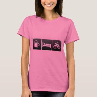 Boisson, sommeil et classes de rotation t-shirt