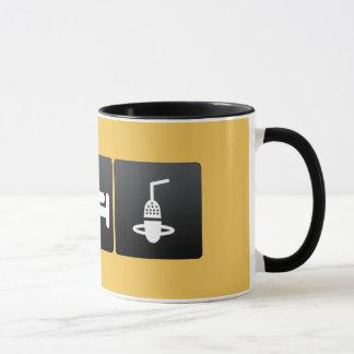 Boisson, sommeil et microphones mug