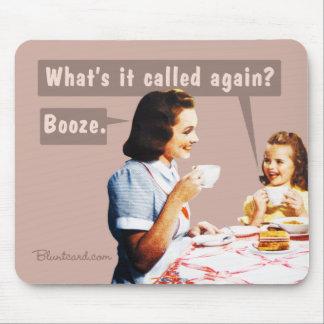 boissons alcoolisées de mousepad tapis de souris