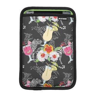 Boissons tropicales avec des animaux housse pour iPad mini