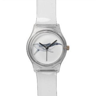 Boit baleine yubarta horloge montres cadran