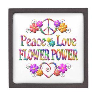 Boîte À Babioles De Première Qualité Amour flower power de paix