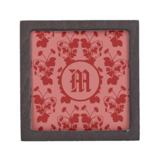 Boîte À Babioles De Première Qualité Boîte-cadeau de motif de fraisiers communs