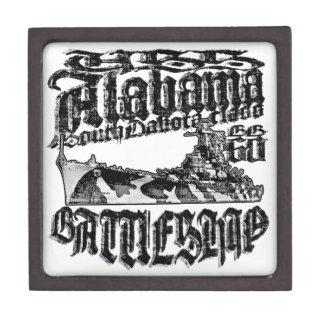 Boîte À Babioles De Première Qualité Boîte-cadeau en bois magnétique de l'Alabama de