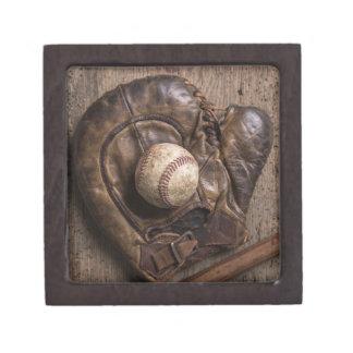 Boîte À Babioles De Première Qualité Équipement de base-ball vintage
