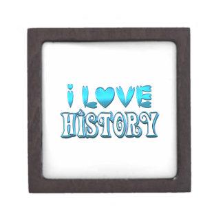 Boîte À Babioles De Première Qualité J'aime l'histoire