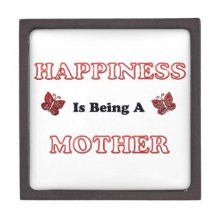 Boîte À Babioles De Première Qualité Le bonheur est une mère