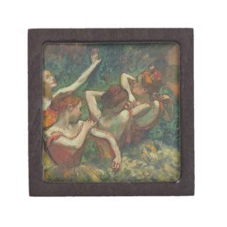 Boîte À Bijoux De Première Qualité Edgar Degas | quatre saisons dans l'une tête,