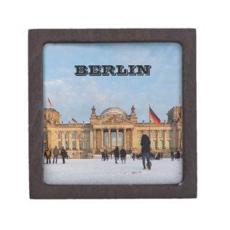 Boîte À Bijoux De Première Qualité Milou Reichstag_001.02 (Reichstag im Schnee)
