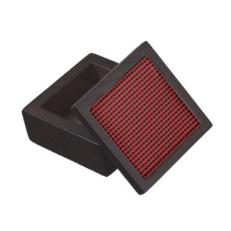 Boîte À Bijoux De Première Qualité motif rouge