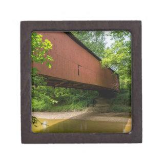 Boîte À Bijoux De Première Qualité Pont couvert de moulin de Wilkens