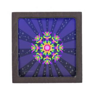Boîte À Bijoux De Première Qualité Série #3 d'éclat de boîte à bijoux de kaléidoscope