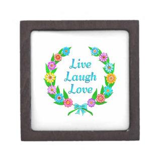 Boîte À Bijoux De Première Qualité Vivent l'amour de rire