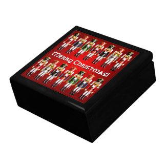 Boîte À Souvenirs 14 soldats de jouet colorés de casse-noix de Noël