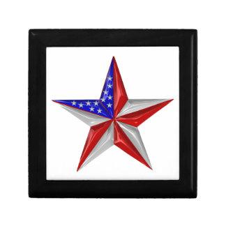 Boîte À Souvenirs 4 juillet étoile