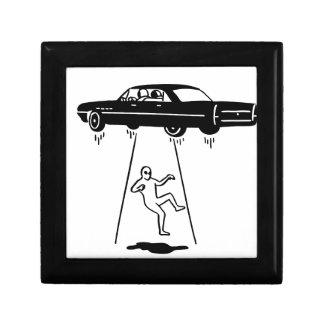 Boîte À Souvenirs abduction de voiture des aliens