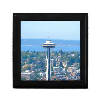 Boîte À Souvenirs Aiguille de l'espace d'horizon de Seattle