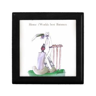 Boîte À Souvenirs Aimez le cricket de Yorkshire 'à la maison aux