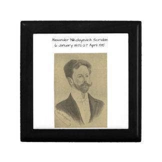 Boîte À Souvenirs Alexandre Nikolayevich Scriabin