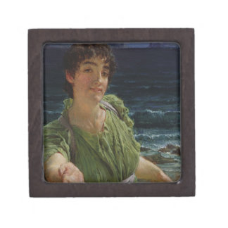 Boîte À Souvenirs Alma-Tadema | Una Carita, 1883