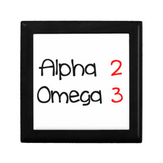 Boîte À Souvenirs alpha omega