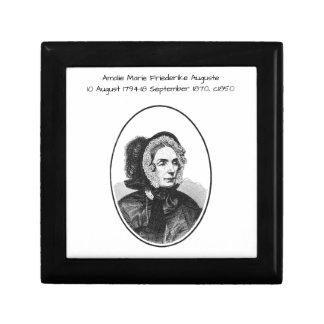 Boîte À Souvenirs Amalie Marie Friederike Auguste c1850