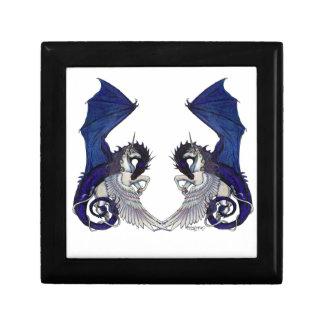 Boîte À Souvenirs Amants de licorne et de mariage de dragon